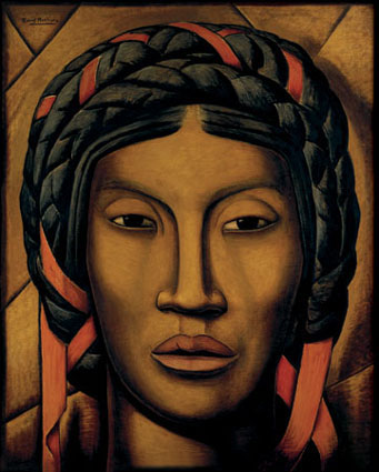 Mujer indigena de Tehuantepec  Alfredo Ramos Martínez  1920