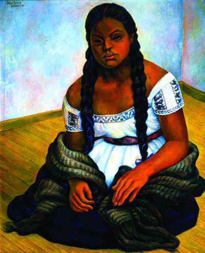 3-21_rivera_mujer-indigena-sentada