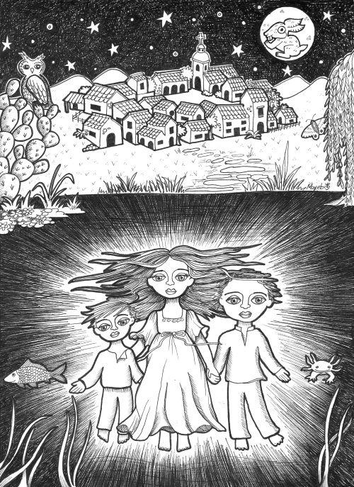 La noche de los llorones Mariana Mayeb